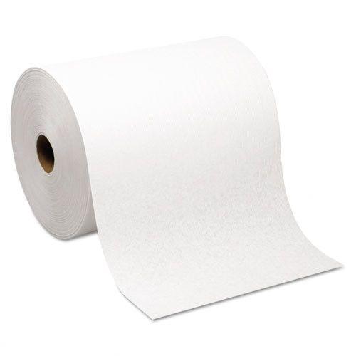 Hardwound 1-Ply Paper Towel - 6 Rolls