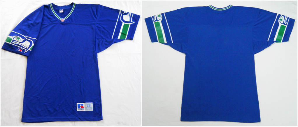 the latest 722d4 f02a2 Vintage early-90s Seattle Seahawks (blank) jersey by ...