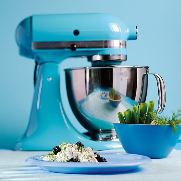 KITCHENAID ARTISAN MIXER - CRYSTAL BLUE Hand constructed from - kitchenaid küchenmaschine rot