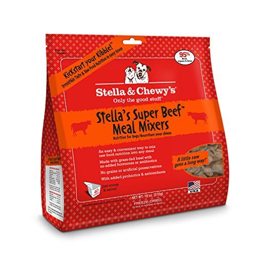 Stella And Chewy S Freeze Dried Raw Super Beef Meal Mixers For