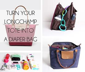 Life In Play The Longchamp Le Pliage Tote Makes A Great Diaper Bag