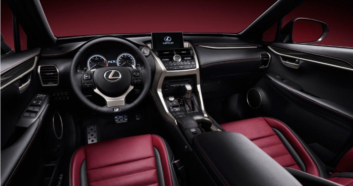 Lexus Nx200t Interior