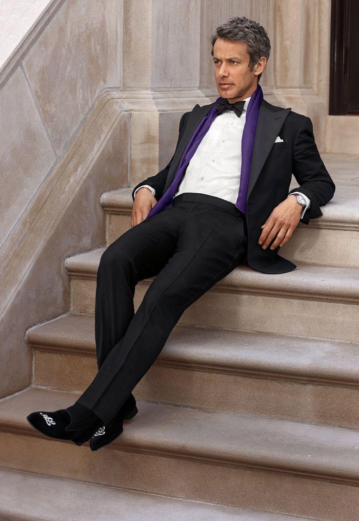 Cet automne, Purple Label modernise la coupe Savile Row sur mesure classique