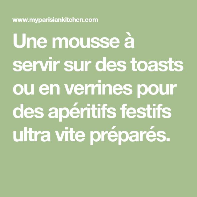 Mousse apéritive de saumon fumé - My Parisian Kitchen
