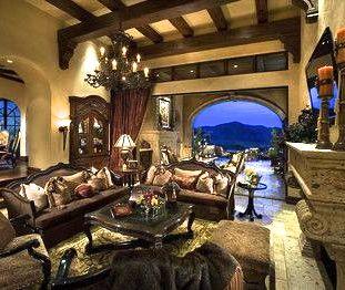 Old World Living Room