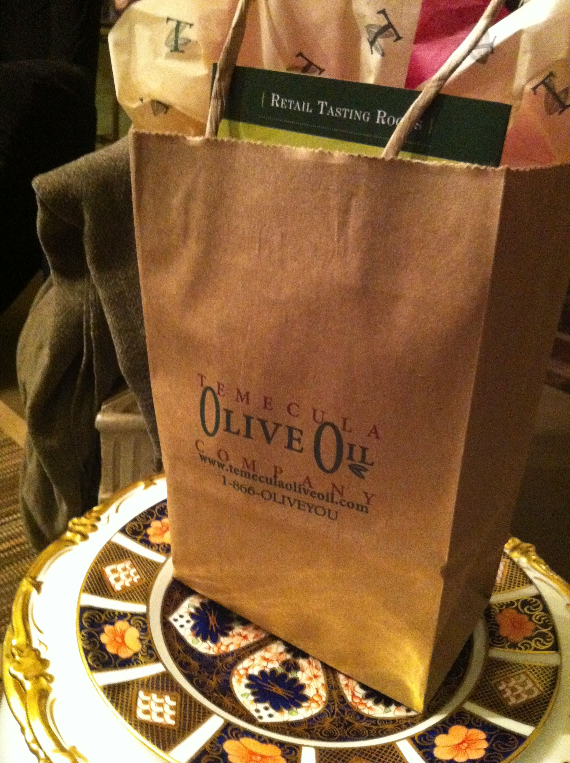a very little something from Temecula Olive Oil Co.