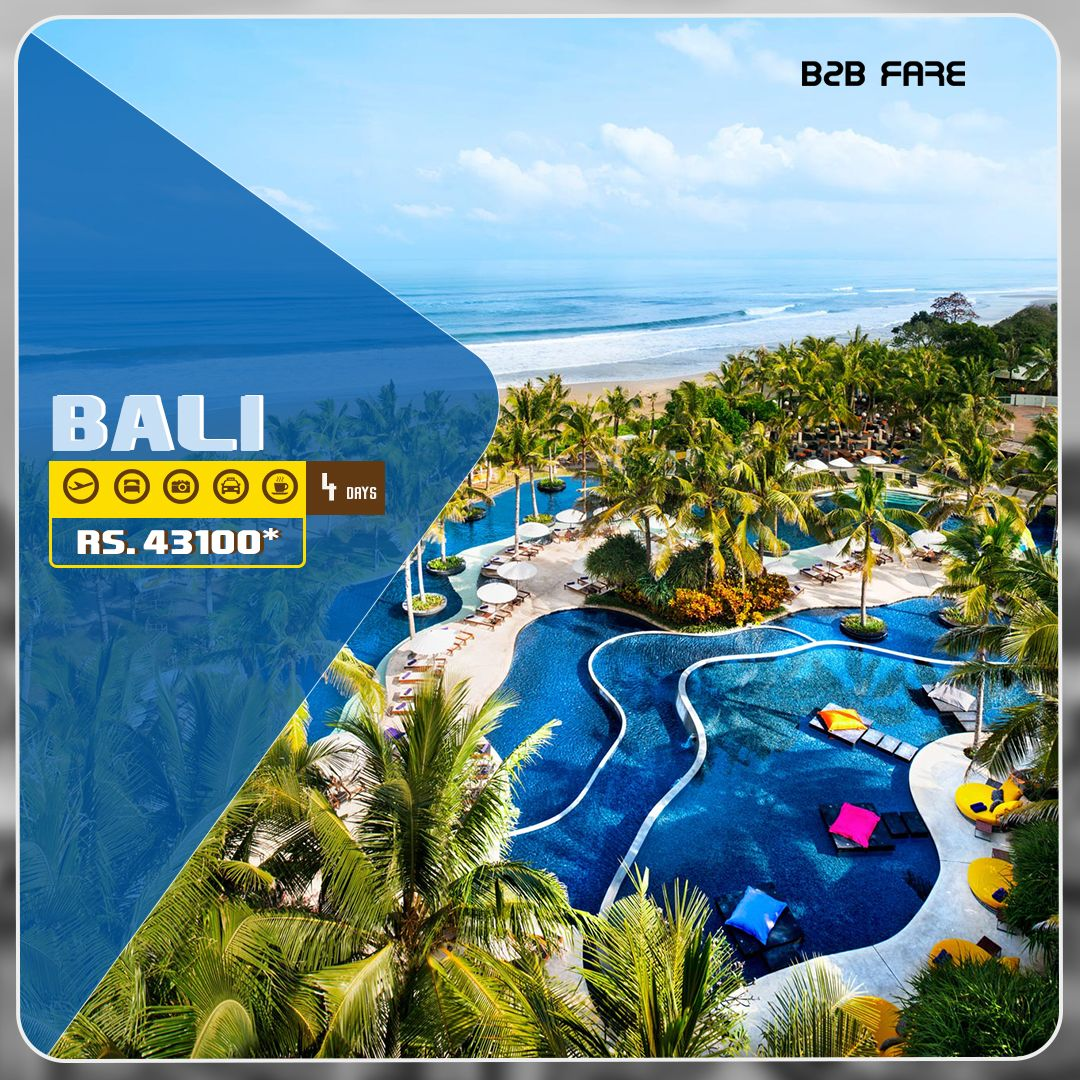 Bali is a popular holidays island in the Indonesian