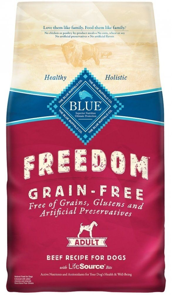 Blue Buffalo Blue Freedom Adult Beef Bag 4 Lb See This Great
