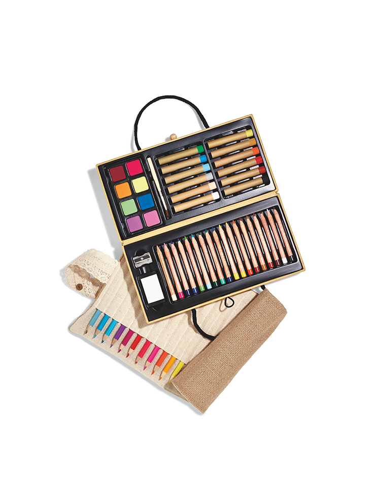 Art supplies make the perfect gift for Picassos young and old.