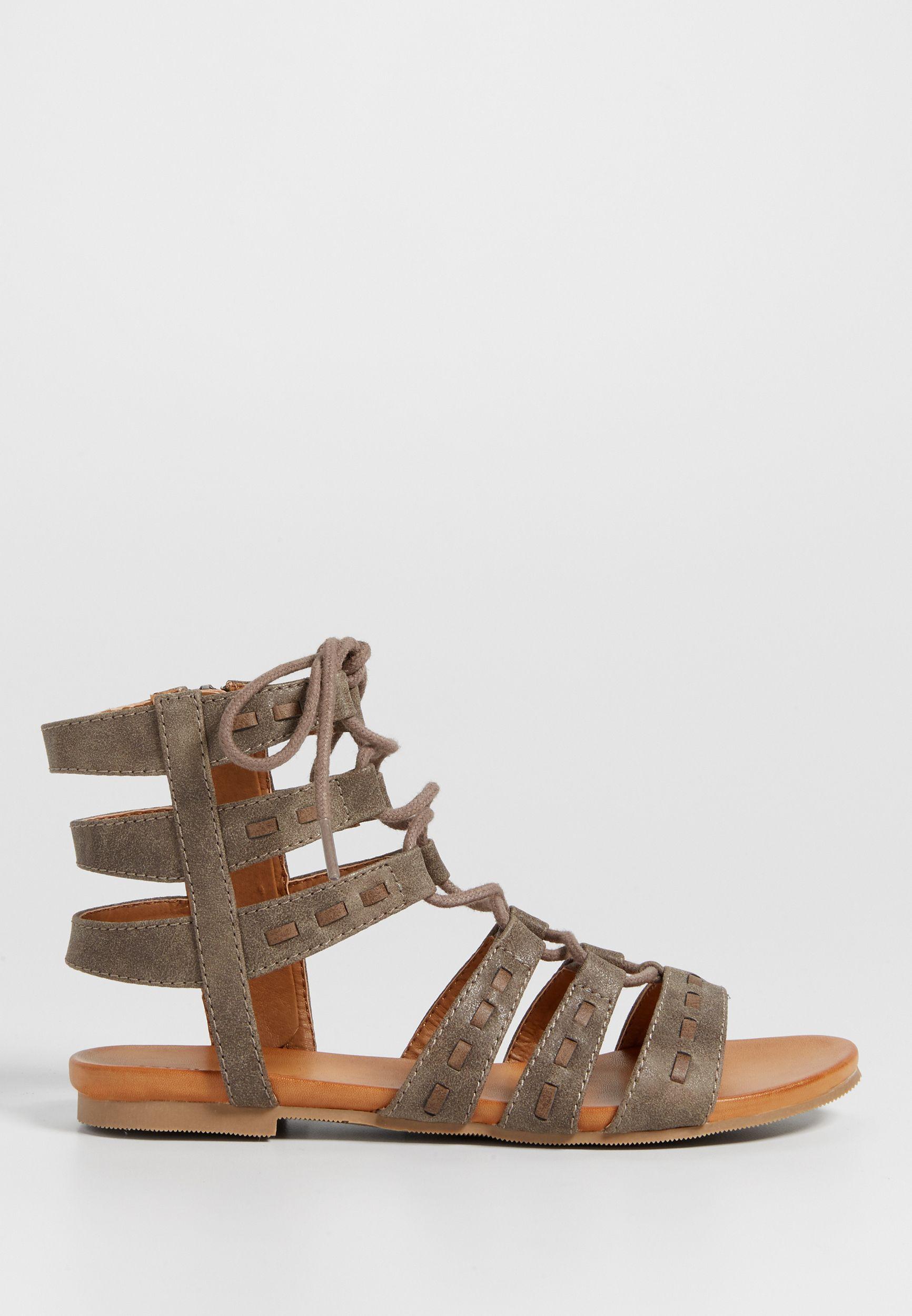 876a9b0c3c9e Elle lace up faux leather gladiator sandal (original price