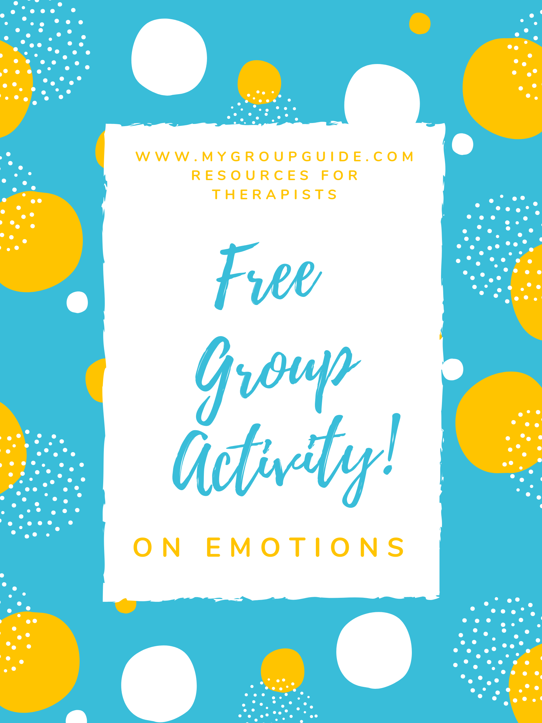 Free Emotions Exercise