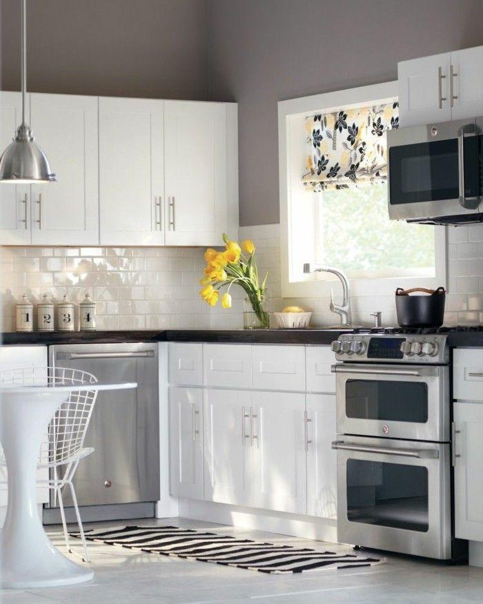 Fein Top 5 Wandfarben Für Küchen Mit Eichenschränken Ideen ...