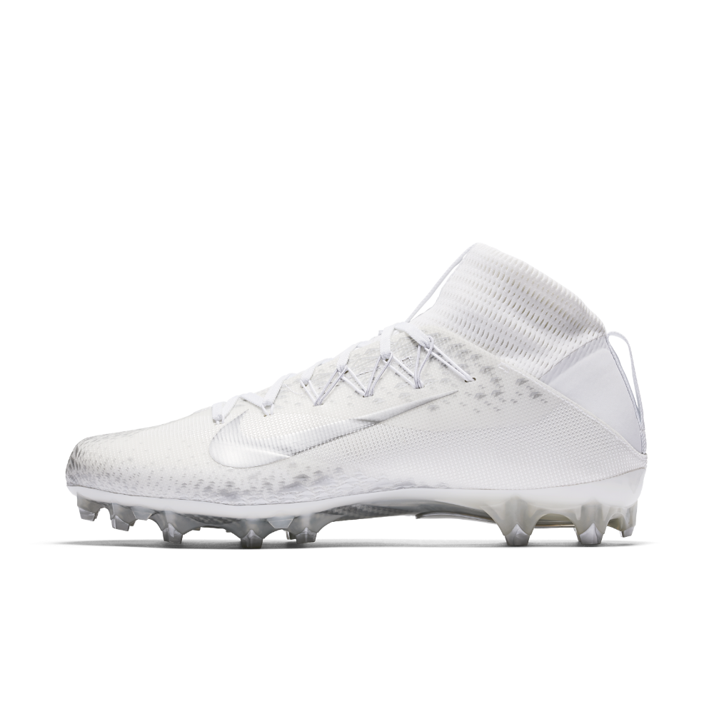 brand new e9f68 080ae Nike Vapor Untouchable 2 Men s Football Cleat Size 12.5 (White)
