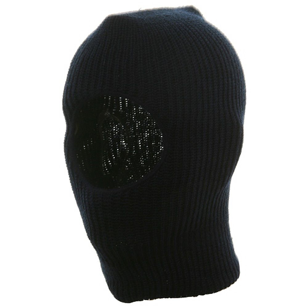 Child One Hole Ski Mask-Navy