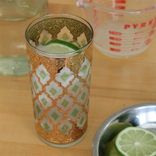 Lime Soda - lemongrass