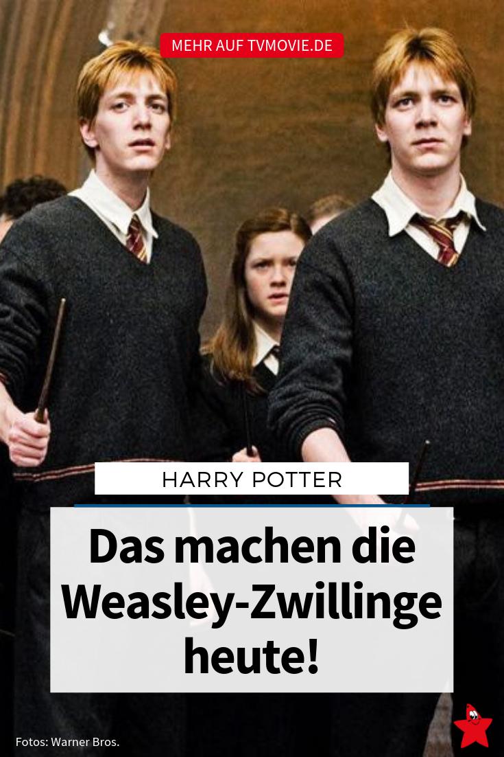 Hot Harry Potter So Zeigen Sich Die Weasley Bruder Privat Weasley Zwillinge Harry Potter Fred Und George Weasley