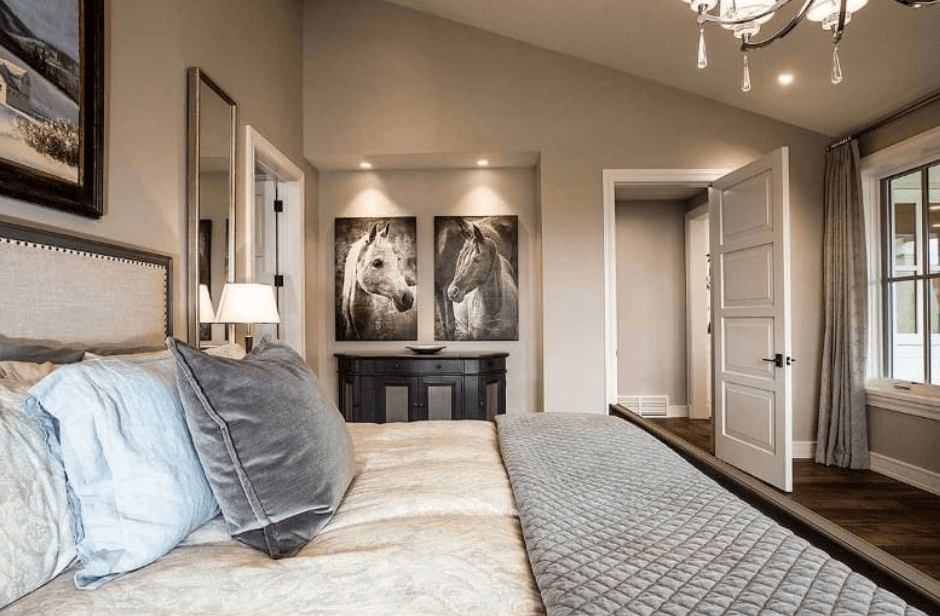 Photo Of Beige White Bedroom Master Bedroom Gold Bedroom Decor