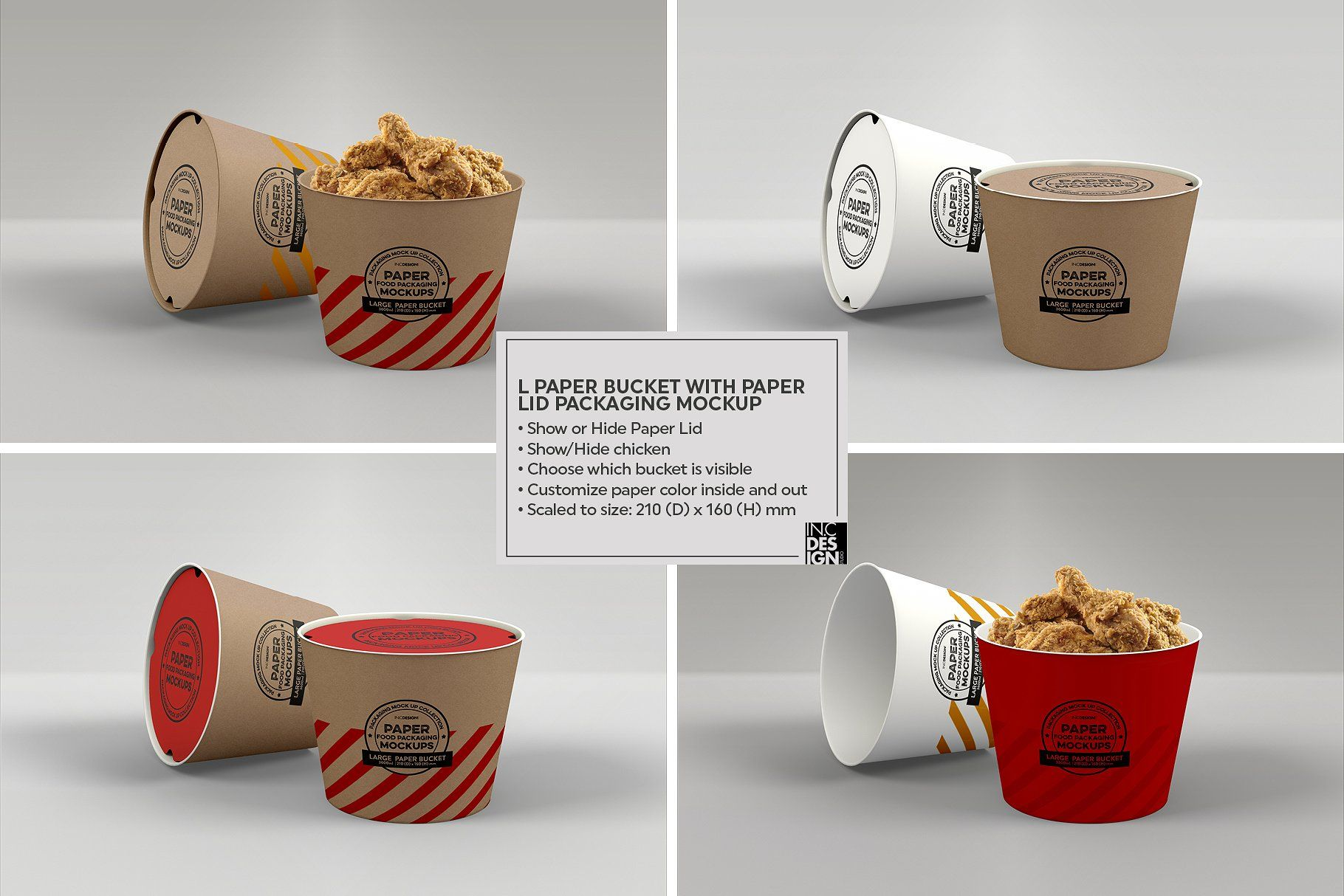 Download VOL.12 Food Box Packaging Mockups | Food box packaging ...