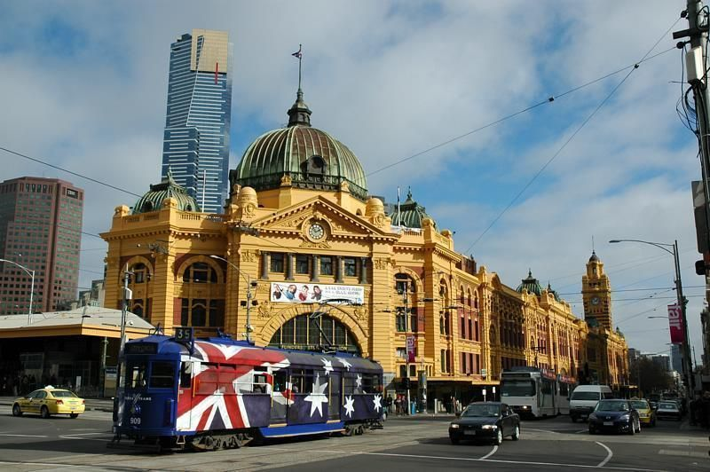 Why do people go into the city? ( Melbourne australia)?