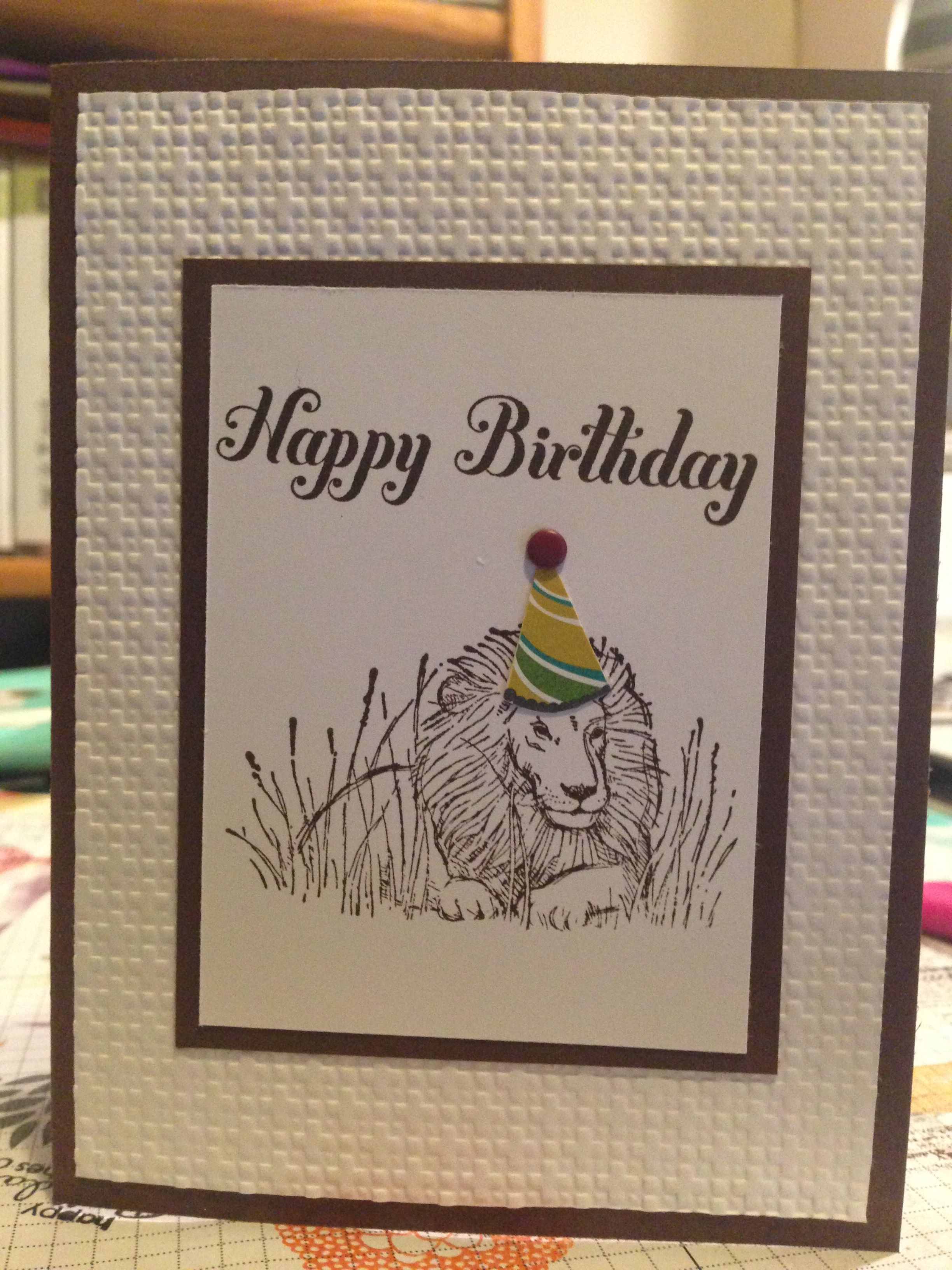 Zoo Review Stampin Up Diy cards, Cards, Birthday cards