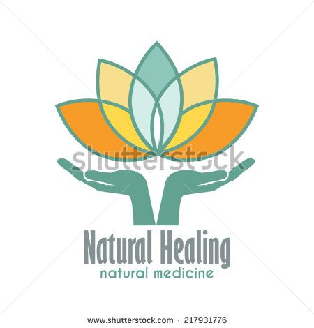 Hands holding a lotus flower vector icon business sign template for business sign template for alternative medicine yoga club beauty industry med spa natural cosmetics natural healing acupuncture wajeb Images