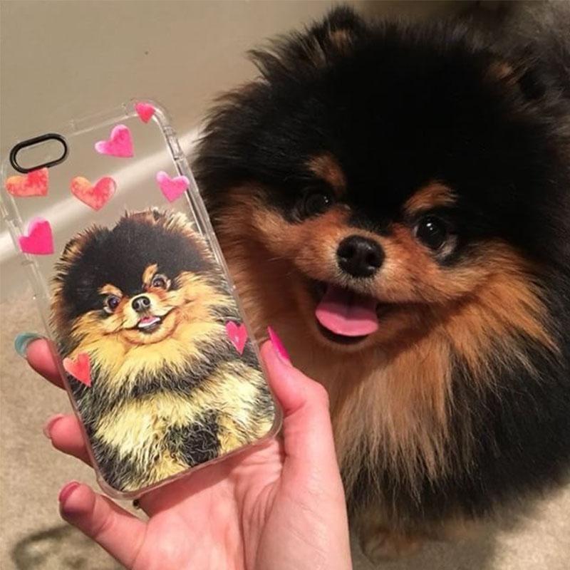 Custom Pet Phone Case Dog Art Cat Art Pets United Pets