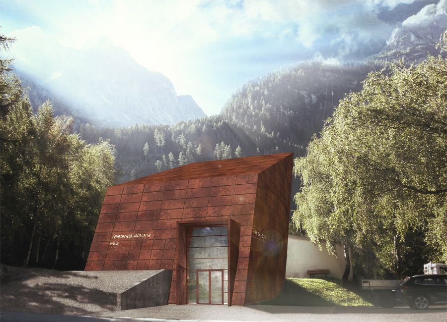 Wettbewerb talstation seilbahn albigna architekturb ro - Baumhaus architekturburo ...