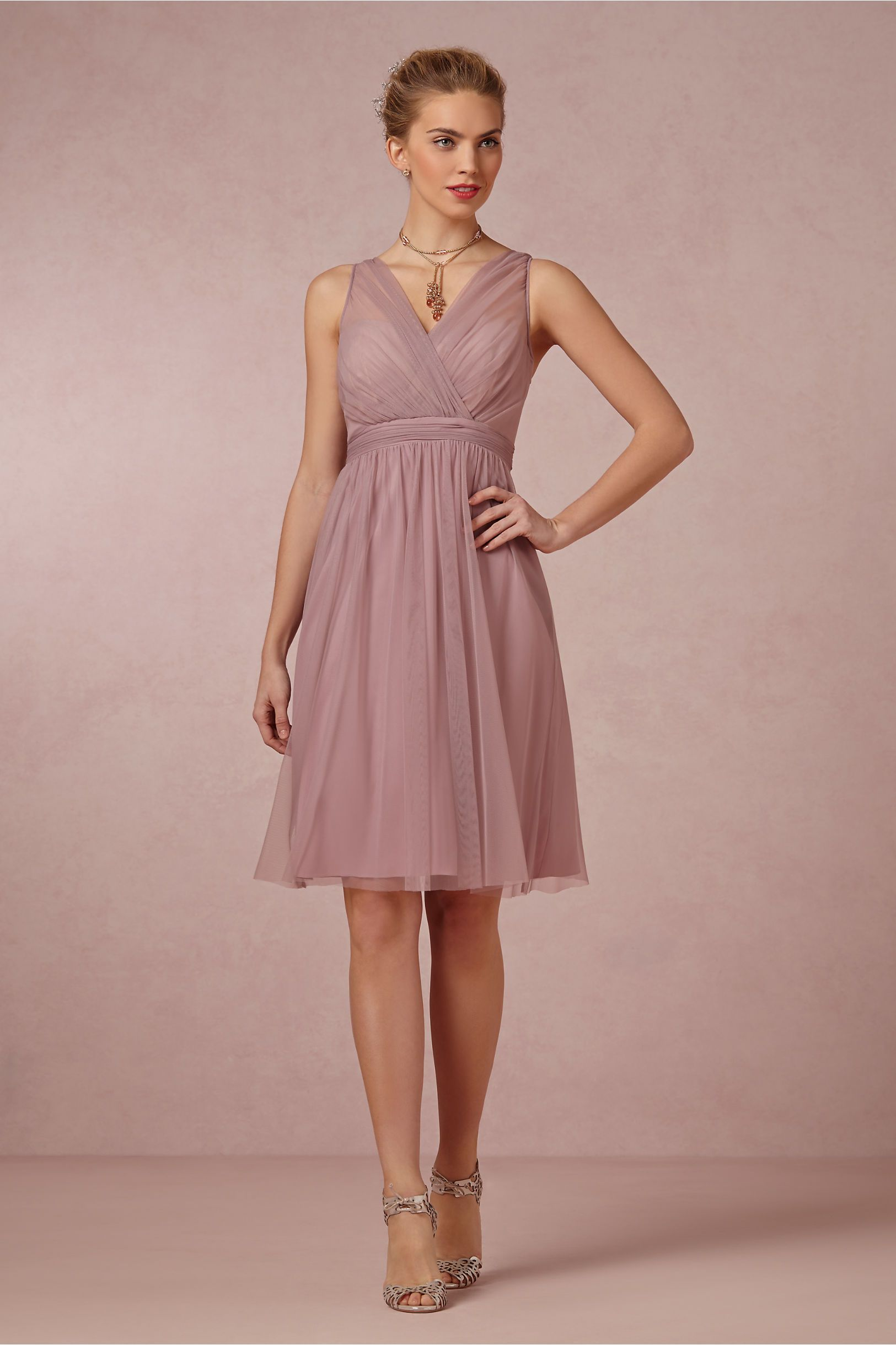 Again, with the mauve. Bummer. Tansy Dress in Bridal Party