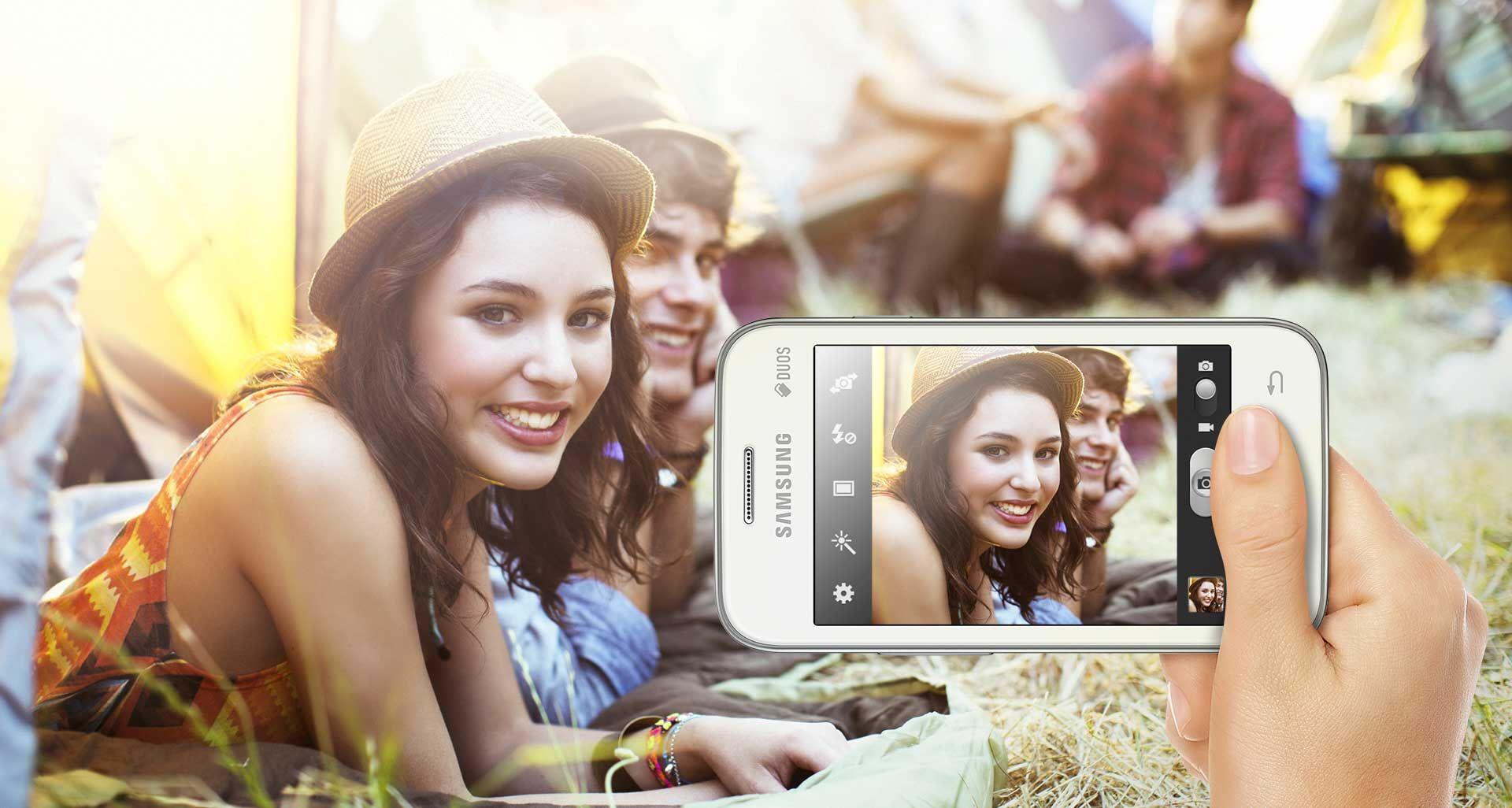 Samsung Galaxy Star 2 Androïd 4.4 KitKat. Ecran 3,5