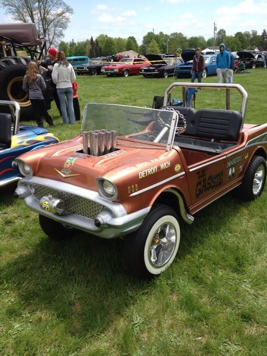 Ger Golf Cart At Coldwater Mi Carshow