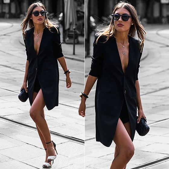 Maxi blazer | STEAL THE LOOK