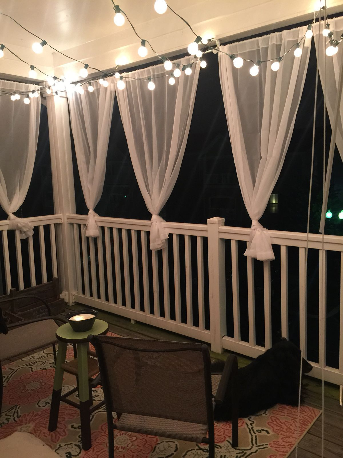 Pin By Kim Jones On Gazebo Decor Apartment Balcony
