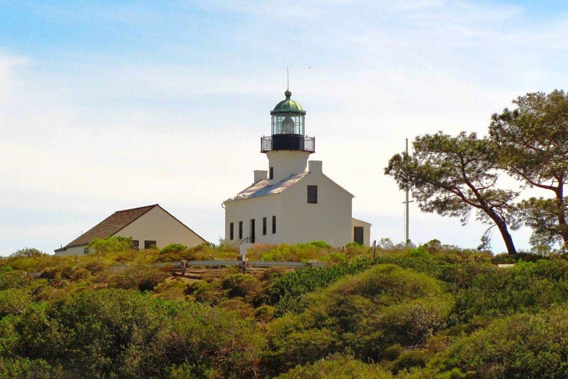 The Old Point Loma Lighthouse In San Diego Ca Point Loma House Styles Loma