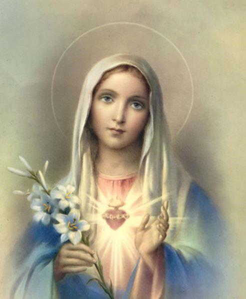 Vierge Très Sainte, ma Bonne et Tendre Mère, je Vous aime pour ceux qui ne Vous aiment pas;  je Vous loue pour ceux qui Vous blasphèment;  je me donne totalement à Vous pour ceux qui ne veulent pas Vous reconnaître comme leur Mère.