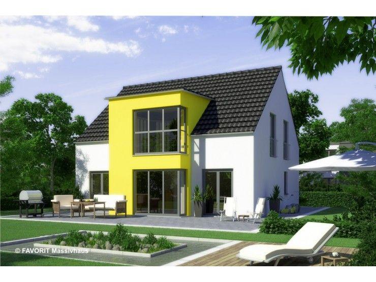 Massivhaus modern satteldach  Select 134 - #Einfamilienhaus von Bau Braune Inh. Sven Lehner ...