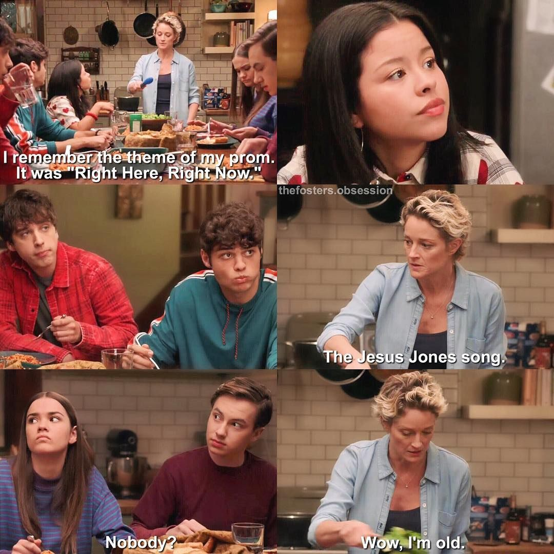 Pin by alexys northrup on the fosters the fosters the