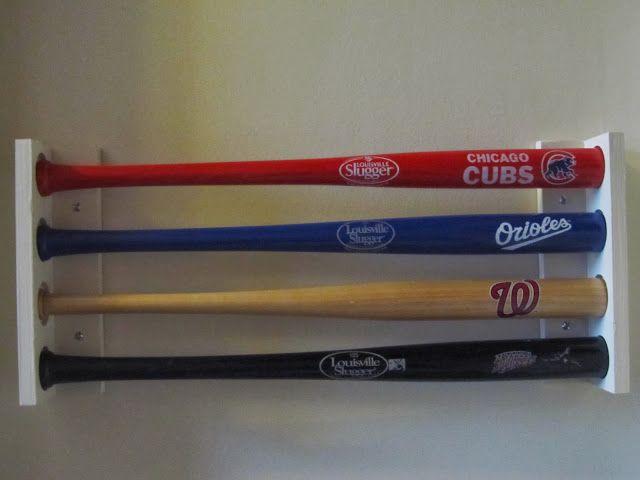 Half Finished House Mini Baseball Bat Holder Baseball Bat Holder Baseball Bat Baseball Bat Display