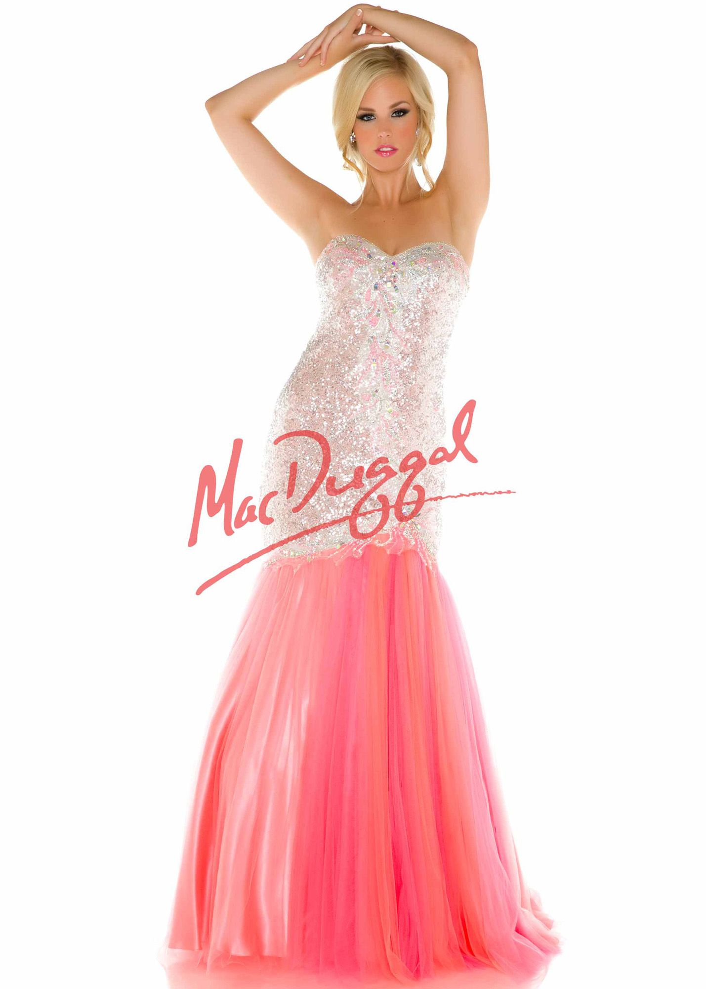 Fabulouss by Mac Duggal 65073 Sparkly Beaded Dress | Prom dresses ...