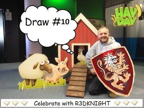 Hay Day - R3DKNIGHTs 10000 Subscriber Giveaway - Draw 10