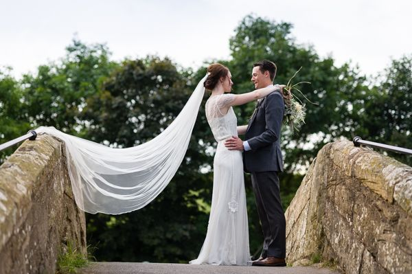 Jenny Packham for a Pretty Wedding at Danby Castle  With images by Shoot Lifestyle Wedding Photography.