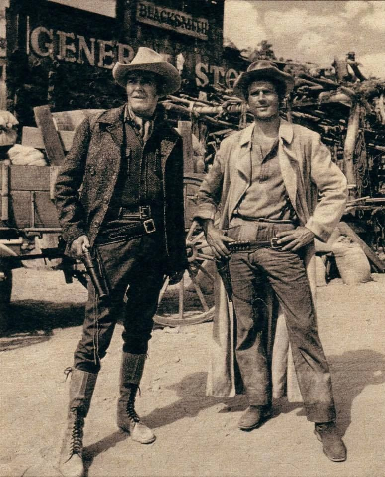 Terence Hill And Henry Fonda In My Name Is Nobody