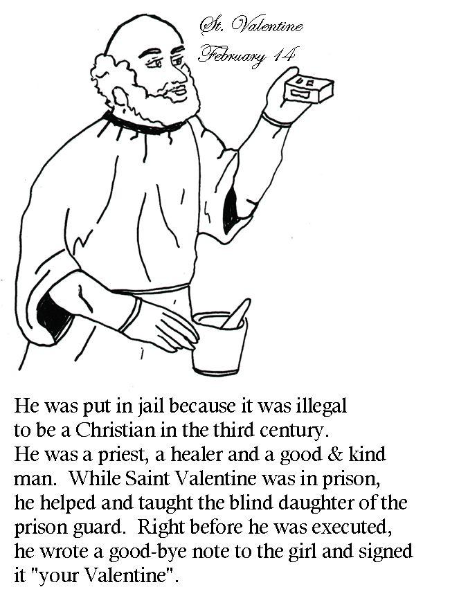 Catholic Valentine S Day Cards To Color Thecatholickid Com