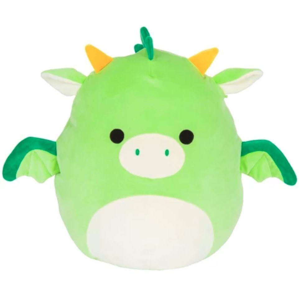Squishmallows 7 Plush Dexter The Green Dragon Animal Pillows Pet Toys Pillow Pals
