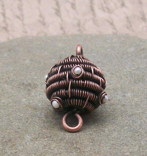 Free Wire Bead Tutorial by Delia Stone | Beads tutorial, Tutorials ...