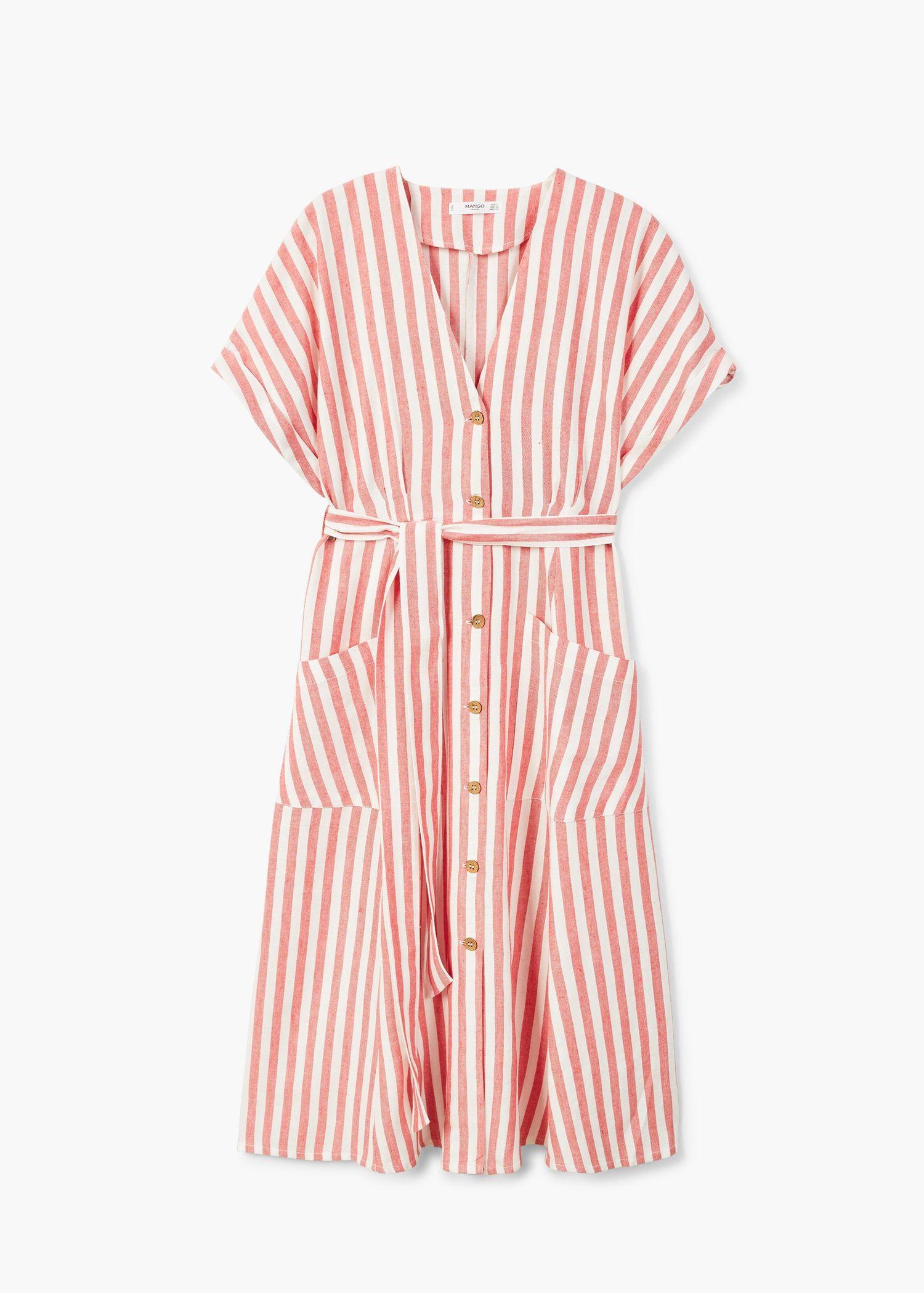5c59a4385c6 Striped cotton dress - Women