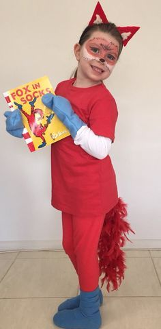 Fox in socks costume.  sc 1 st  Pinterest & Fox in socks costume. | Day School | Pinterest | Foxes and Costumes