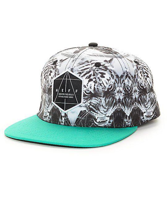 8220a9ec8 Neff Battlekat Snapback Hat in 2019   Snapbacks 'n' Stuff   Black ...