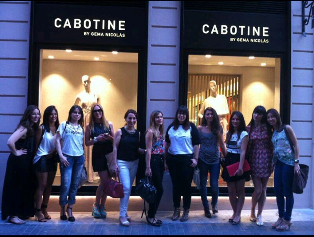 Encuentro de blogueras de moda en nuestra tienda de Murcia.