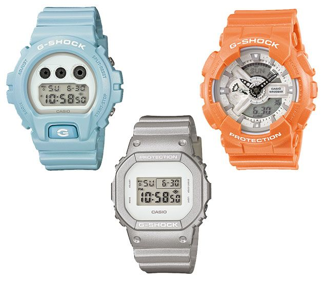 Casio G-Shock - Matte Metallic series