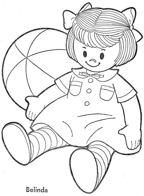 Album Archive Coloring Book Chatty Baby 1 Coloring Books Vintage Books Album